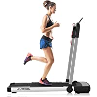 Murtisol 2 in 1 Folding Treadmill, 2.25HP Under Desk Electric Treadmill, Installation-Free with APP, Remote Control and…