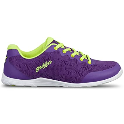 4ab774d864a6c KR Strikeforce Lace Purple/Yellow Bowling Shoes Women's Size 8