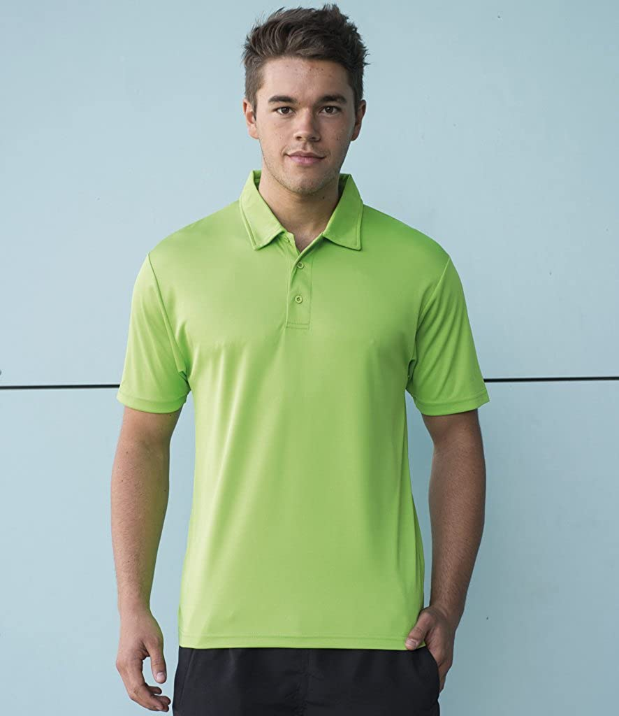 AWD Just Cool Breathable Cool Polo Shirt Fire Red