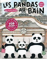 Book's Cover ofLes pandas aux bains