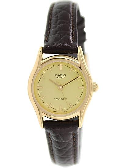 b8d06c4472d Amazon.com  Casio Women s EAW-LTP-1094Q-9ARDF Analog Quartz Brown Watch   Casio  Watches