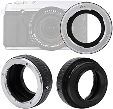 Bewinner Lens Converter,FD-AI Metal Lens Adapter Ring for FD Mount Lens to Fit for AI Camera,Lightweight and Portable,Useful Accessory for Photography Lovers