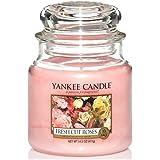 Yankee Candle Medium Jar Candle - Fresh Cut Roses