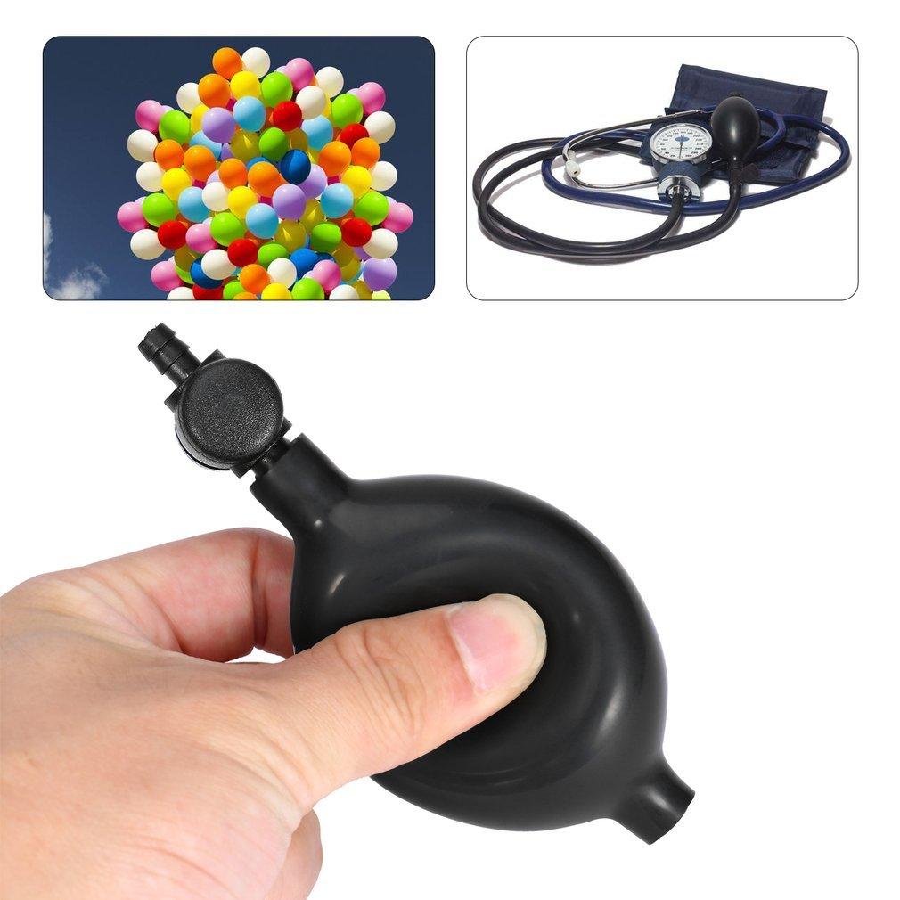 YTCWR Válvula de Descarga de Aire de Goma de la Bombilla de inflado presión sanguínea: Amazon.es: Hogar