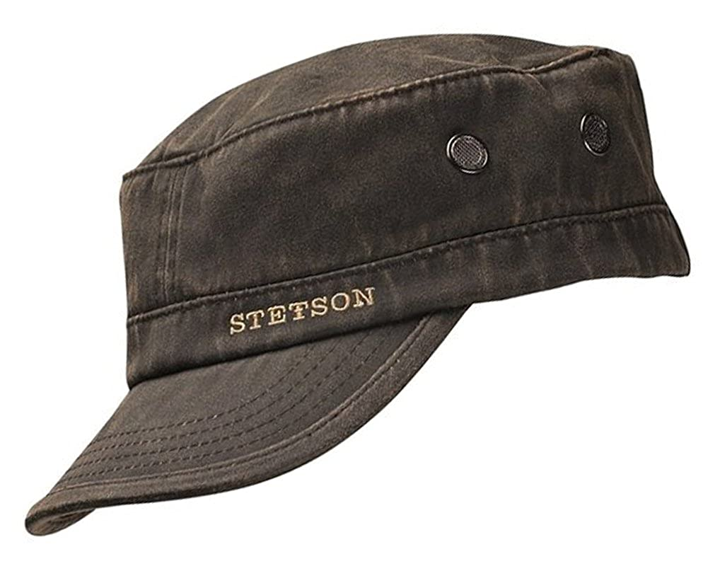 06d25d32564 Stetson Datto Military Cap at Amazon Men s Clothing store