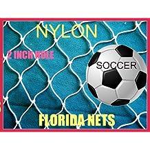 30 Ft x 25 Ft Sports Barrier & Containment Netting, Softball, Soccer, Basketball,Football, Volleyball, Multipurpose, Fishing Net, Fish Net