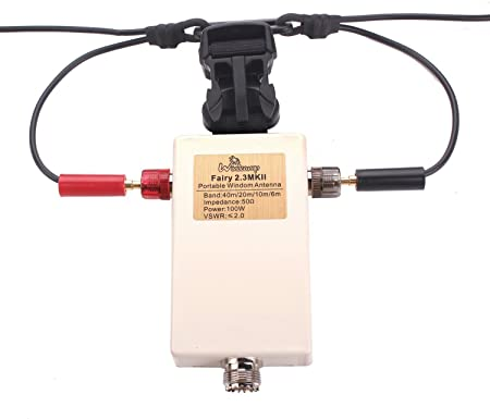 Portátil Windom antena QRP FT-817 eleacraft KX3 portátil portátil de onda corta HF Antena cuatribanda 40 m 20 m 10 m 6 m