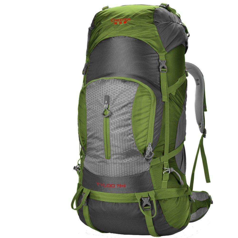 ALUK-Outdoor-Klettern Tasche / Reisetasche Schultern / 80L Tactical / Outdoor-Camping-Wanderrucksack-armygrün 80L