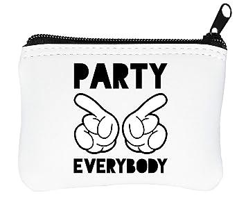 Mickey Mouse Party Everybody Billetera con Cremallera ...