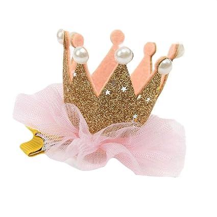 Diademas bebe , ❤️Amlaiworld Clips de pelo niñas Horquilla Accesorios para niñas Sombreros de corona