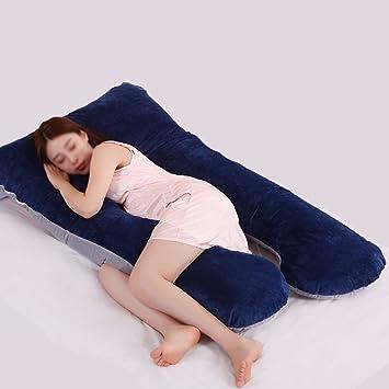 U-förmiges Kissen Ganzkörperkomfort für Schwangerschaft Mutterschaft DE