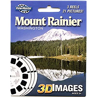 Mount Rainier, WA - ViewMaster Reels 3D - Unsold store stock - never opened: Toys & Games