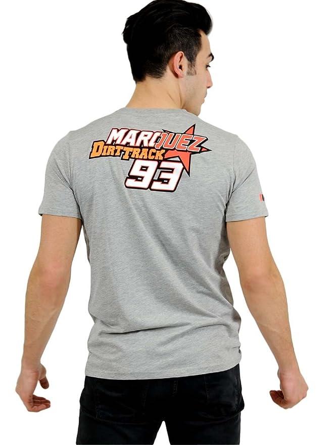 Marc Marquez Dirt Track 93 - Camiseta para hombre, hombre, gris, XX-Large