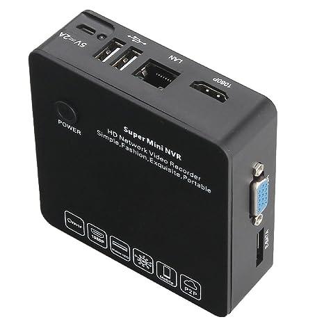 Amazon com : Newest Super Mini NVR 8CH Network HD Video Recorder