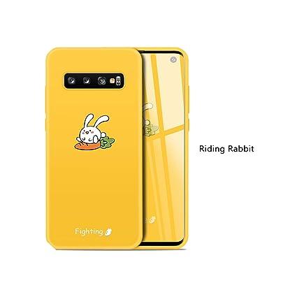 Amazon.com: Carcasa para Samsung Galaxy S10, diseño de gato ...