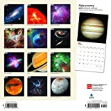 Astronomy 2019 12 x 12 Inch Monthly Square Wall Calendar with Foil Stamped Cover, Astronomy Nasa Hubble Telescope (Multilingual Edition)