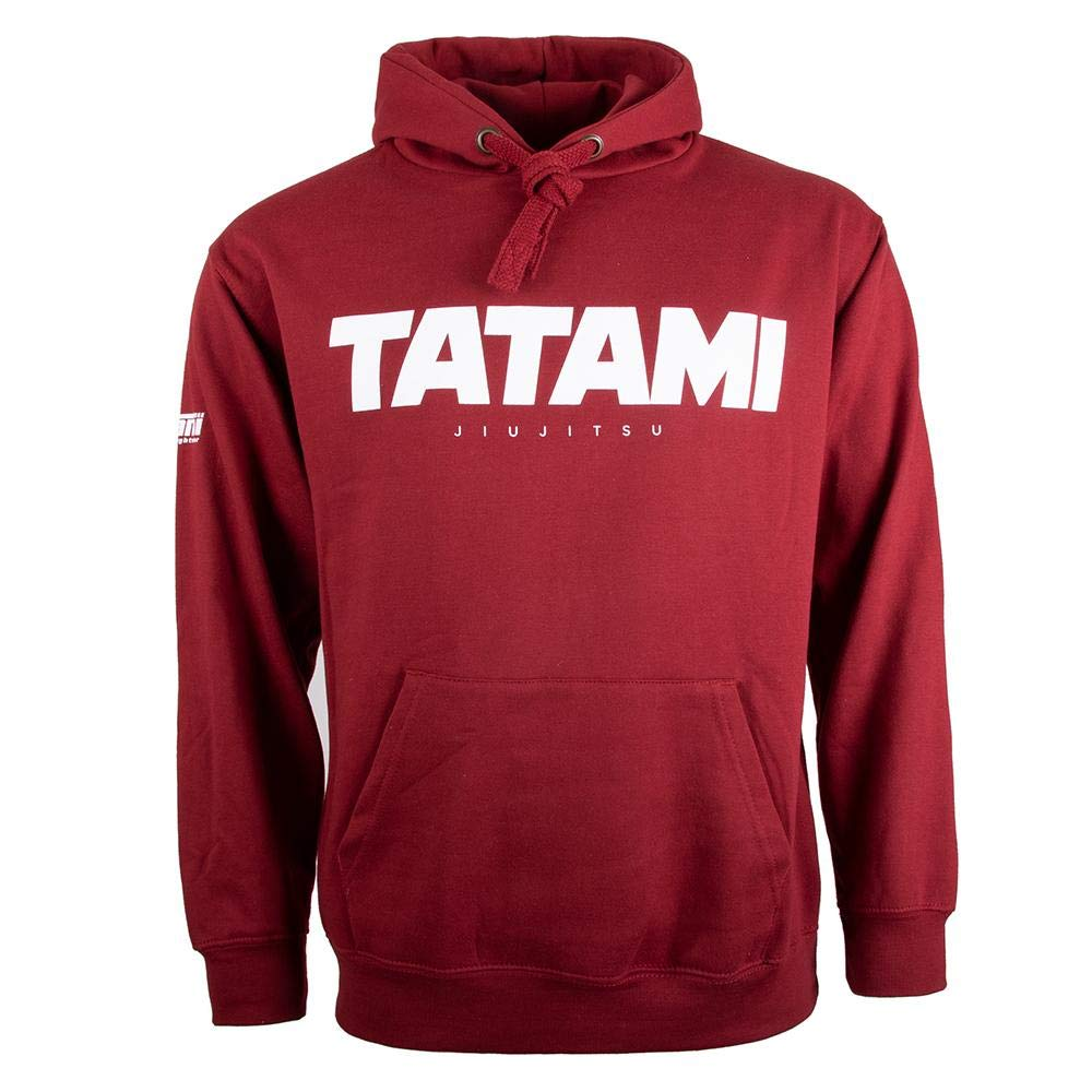 Tatami Fightwear Essential 2019 Hoodie Capucha Hombre Negro Gris Rojo Workout Fitness Training