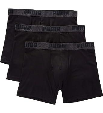 67df3b06f5 PUMA Men's 3 Pack Performance Cotton Stretch Boxer Brief Underwear at  Amazon Men's Clothing store: