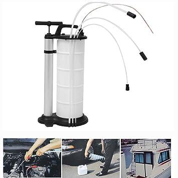 Amazon.com: Bomba manual de succión de líquido y aceite para ...