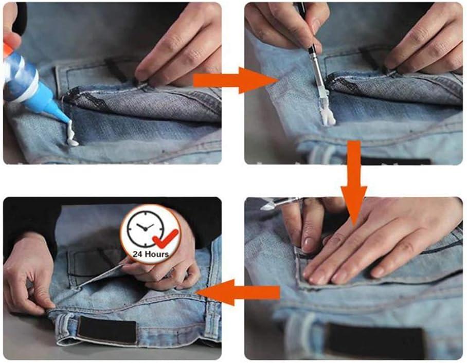 nuevo pegamento compuesto de tela lavable pegamento l/íquido para coser pegamento l/íquido tela instant/ánea cuero r/ápido 1piezas Pegamento de reparaci/ón de ropa