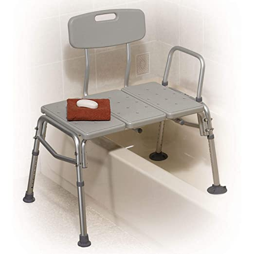 Best Shower Chair: Drive Medical Plastic Tub Transfer Bench
