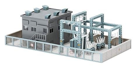 TOMIX N gauge large buildings gray 4245 model railroad supplies