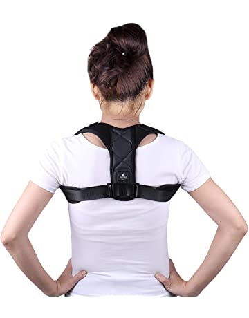 isermeo Correcteur de posture Dos  Orthèse de maintien pour Colonne  Vertébrale, Cyphose, Correcteur 32384ee88a1