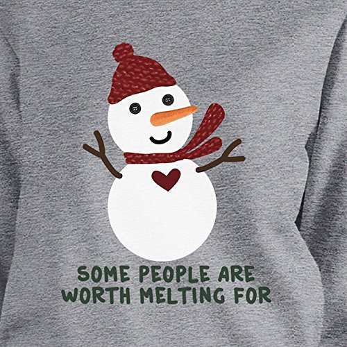 Snowman Taille People Are 365 Manches Printing Longues Sweat Melting Some Femme Worth Unique shirt 4YAY1Oq