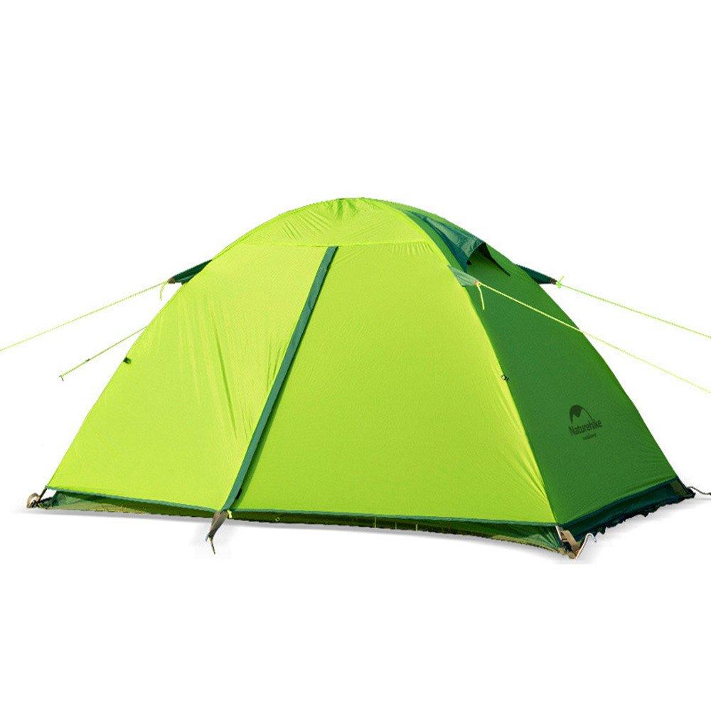 TLMY Helles doppeltes im Freienzelt des Zeltes 20D Anti-Sturmregenzelt des Silikons Zelte