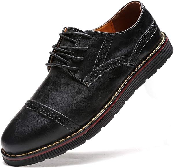 Men`s Genuine Leather Oxford Formal