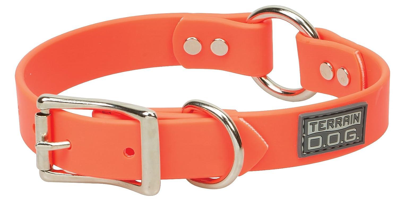 Blaze orange 1\ Blaze orange 1\ Terrain D.O.G. Brahma Webb Hunting Dog Collar