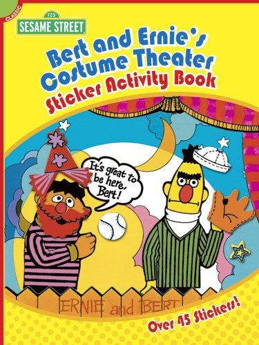 Sesame Street Classic Bert and Ernie's Costume Theater