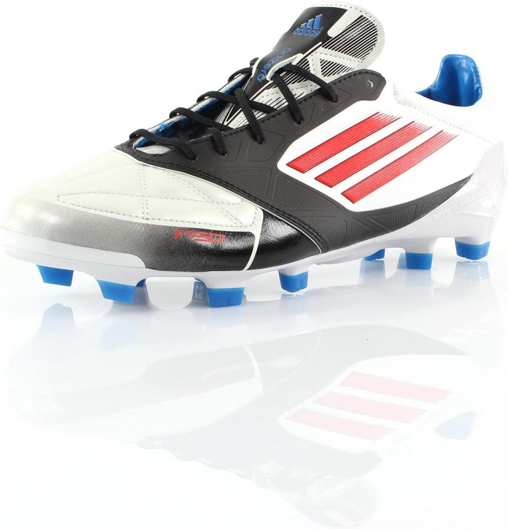 adidas F50 Adizero TRX FG Lea Blanco g45589 tamaño: 40 2/3