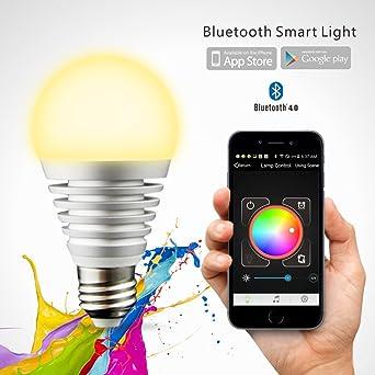 Sans Ampoule Bluetooth Fil MaxindatmSmart Meubles Led Okn0wP