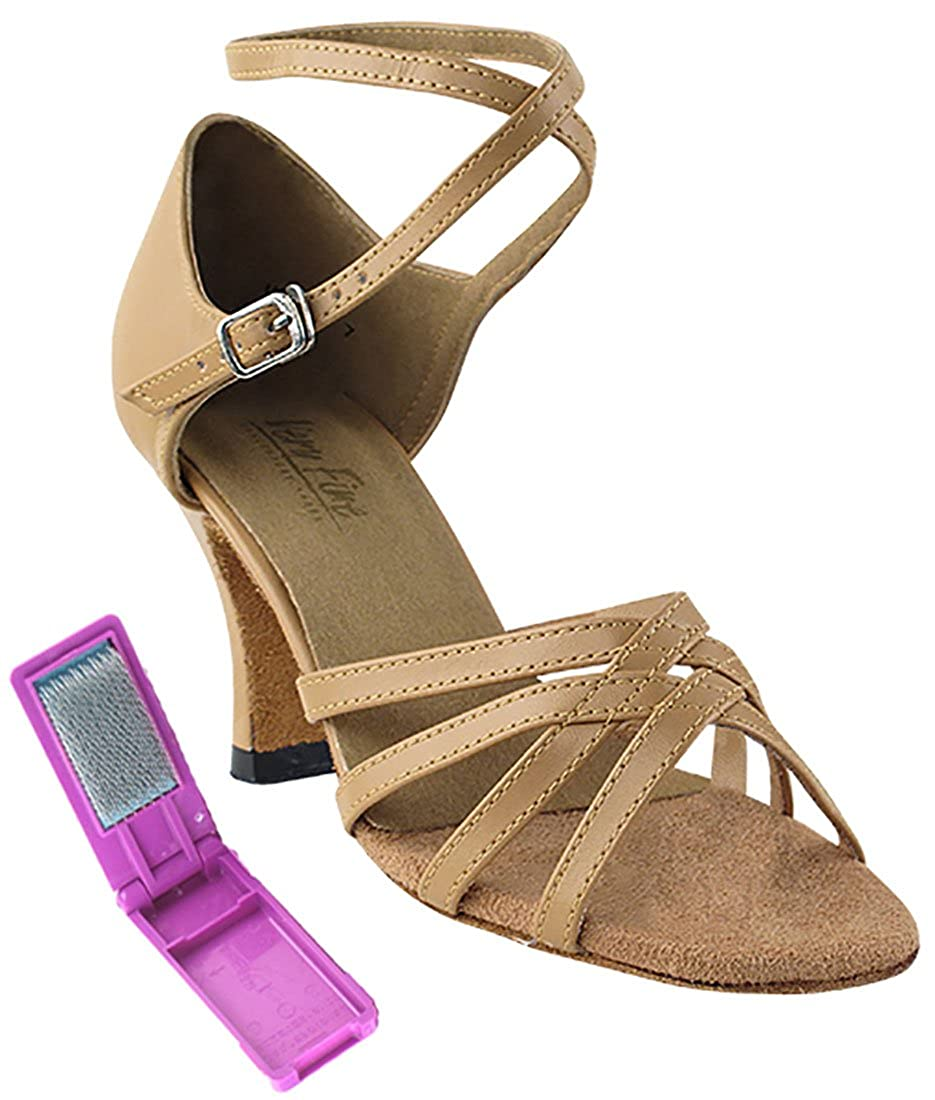[Very Fine Dance Shoes] レディース B0722HCMLP ベージュブラウン 6.5 B(M) US