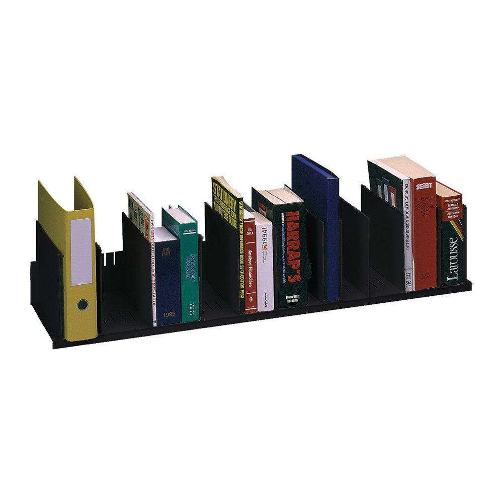 Paperflow Home Office 44'' Wide Individualised Vertical Organizer Black