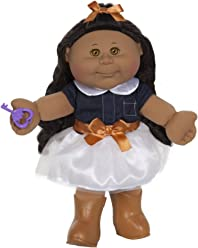 """Cabbage Patch Kids 14"""" Kids - Tan Brunette Girl Doll (Cowgirl Fashion)"""