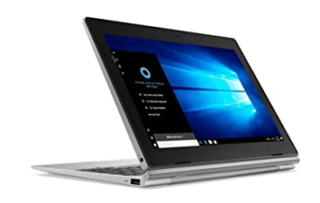 Lenovo 81h3007gfr Ordenador portátil híbrido 10,1 Plata (Intel _ Celeron _ D, 4 GB de RAM, Windows 10), Teclado AZERTY francés: Amazon.es: Informática