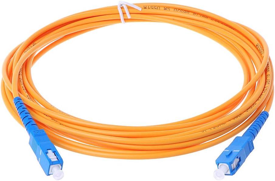 fivekim SC UPC-SM C/âble de Cavalier /à Fibre Optique 3Mm UPC-SC