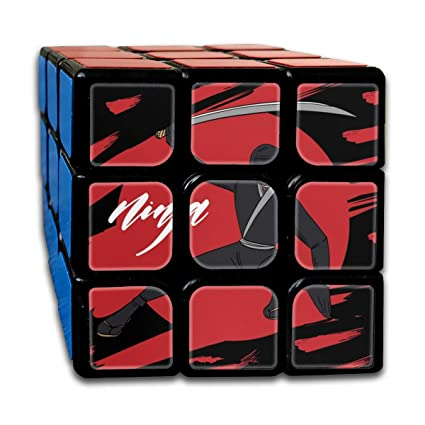 Amazon.com: EYFlife 3x3 Rubik Cube Ninja Warrior Background ...