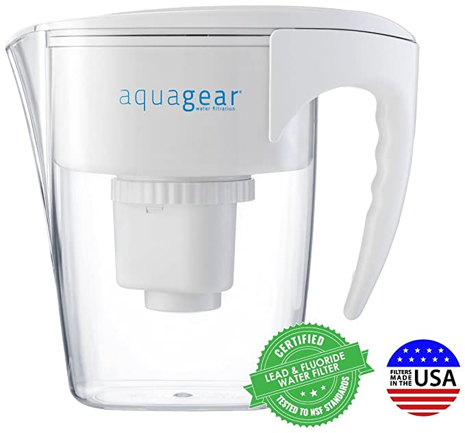 Best Water Filter Pitchers: Aquagear Water Filter Pitcher