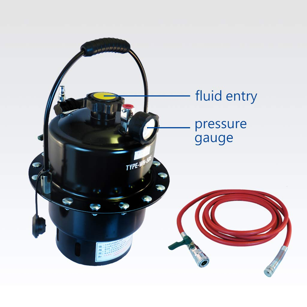 FIRSTINFO Pressure Brake Fluid Bleeder Suitable to Most ABS Brake System Made in Taiwna by FIRSTINFO TOOLS FIT YOUR NEEDS (Image #7)