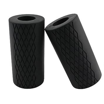 dreampark grueso agarre Pesas Mancuernas y Grips Grips - ULTIMATE Brazo Builder, Intensificar antebrazo, bíceps, Tríceps, y el pecho entrenamientos (1 par): ...