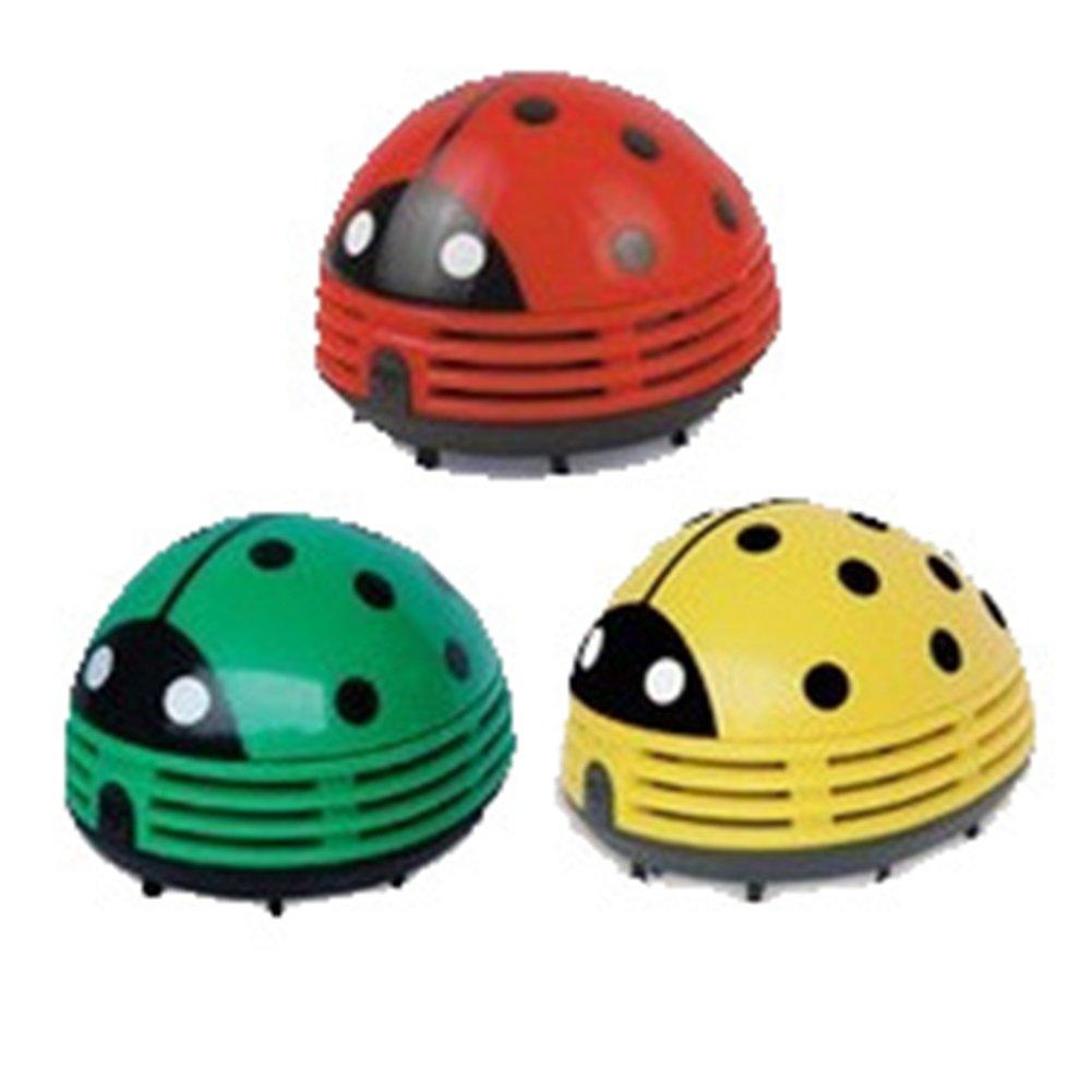 Meiyiu Mini Hand-held Dust Vacuum Cleaner Cute Design Portable Home Office Corner Desk Table Sweeper Beetle 1057085mm