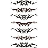 King Horse individualité créatrice à un grand nombre d'autocollant de tatouage morts