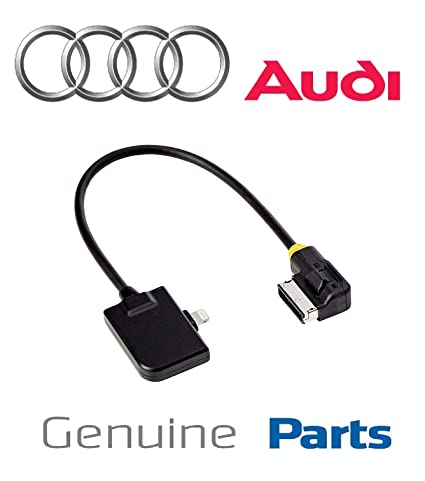 Amazon.com: Audi AMI Aux Cable para iPhone X, 8 7, Audi VW ...