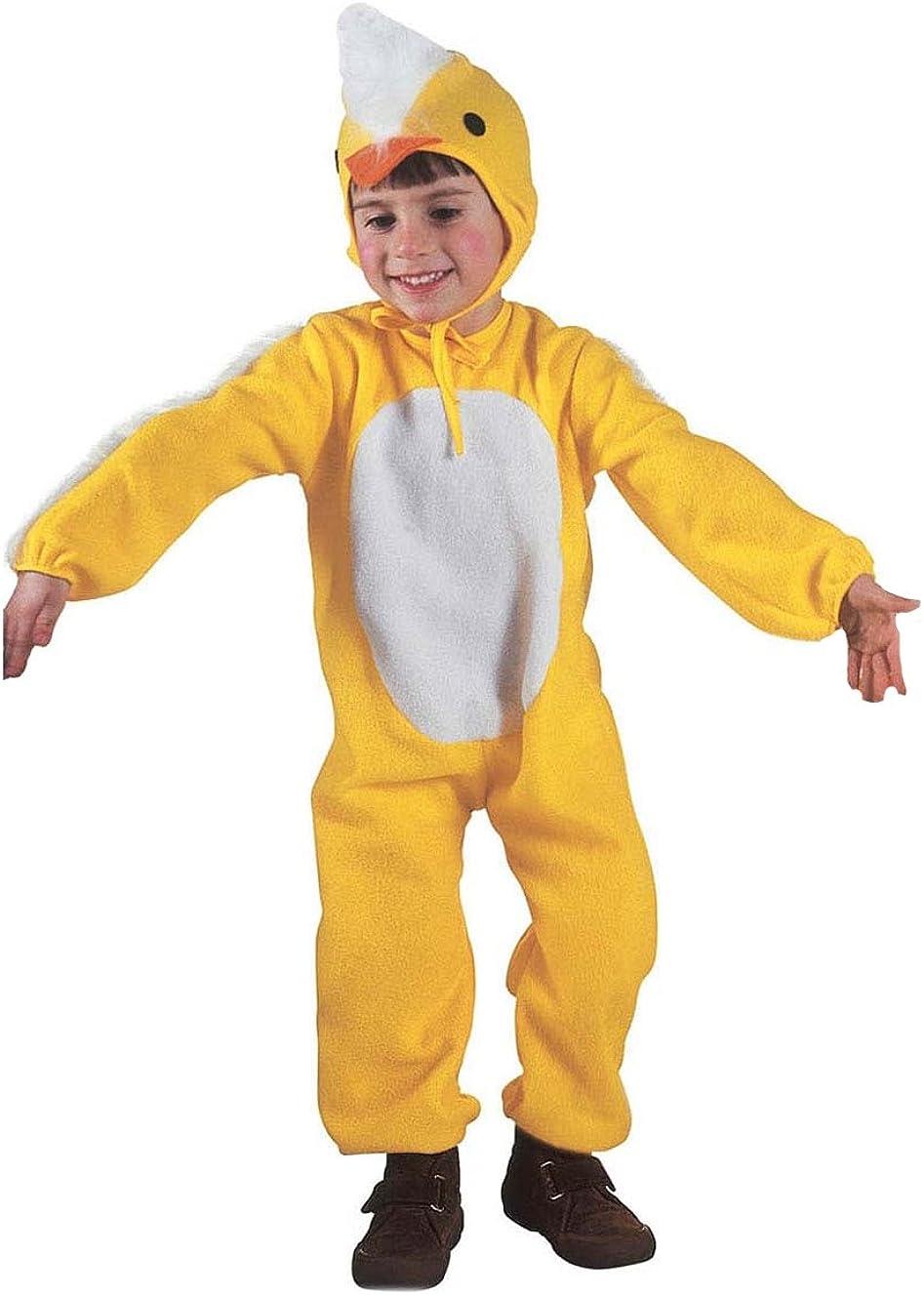 WIDMANN Disfraz Carnaval niño Disfraz niño Pollito Amarillo ...