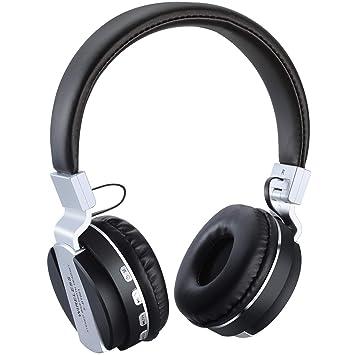 TaoQi Auriculares Bluetooth, Auriculares Deportivos inalámbricos, Estéreos con Bluetooth 4.2 para iPhone 6S/7/8/X y Galaxy S9 y TV y Más (Black): Amazon.es: ...
