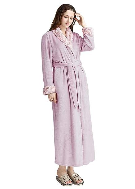 Albornoz para Mujer Microfibra Bata de Baño de Senora, Disponen, Talla M L XL: Amazon.es: Ropa y accesorios