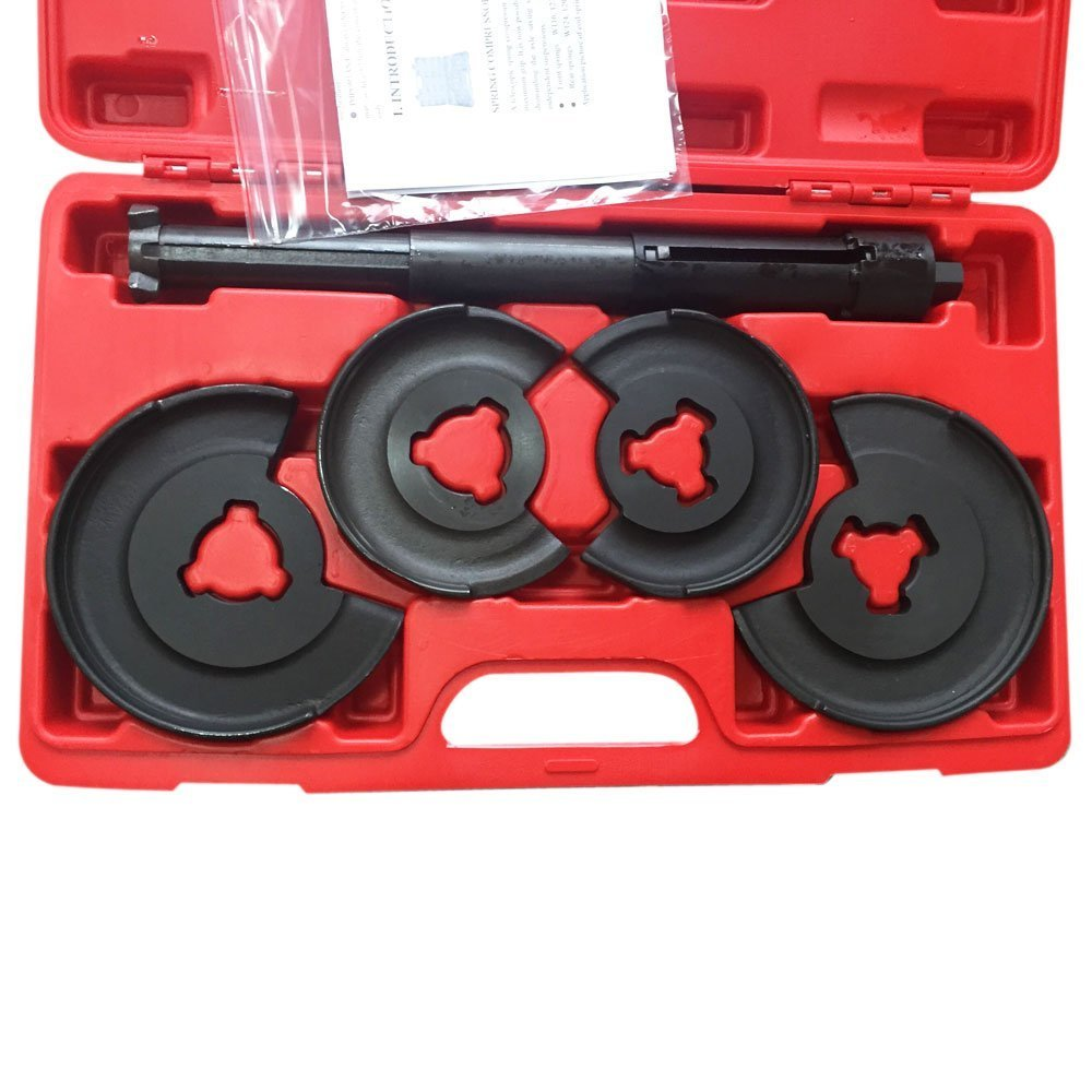 MILLION PARTS 5Pcs Suspension Coil Spring Compressor Strut Tool Kit for Mercedes Benz by MILLION PARTS (Image #2)